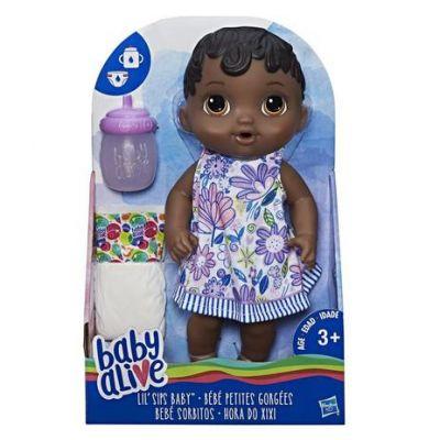 Baby Alive Hora do Xixi Negra - E0308 - Hasbro