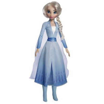 Boneca Elsa Articulada 55cm Frozen