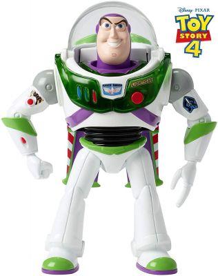 Boneco Toy Story 4 Buzz Lightyear 18cm - GGH39 - Com Som E Luzes