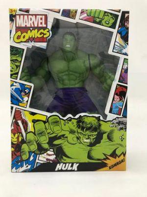 Boneco Hulk Comics gigante Marvel 55 cm Mimo