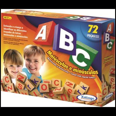 Jogo ABC com 72 peças 5266.5 - Xalingo