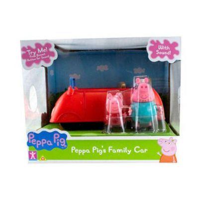 Carro da Família Pig Grande Com Som Peppa e Papai Pig Sunny 2304