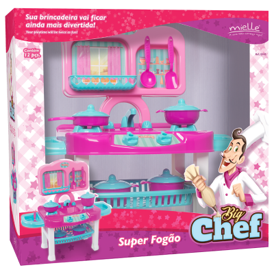 BIG CHEF KIT 05- SUPER FOGÃO Ref.: B145