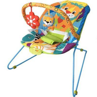 Cadeira de Descanso Vibratória - Musical Lite - Baby Style - Safari
