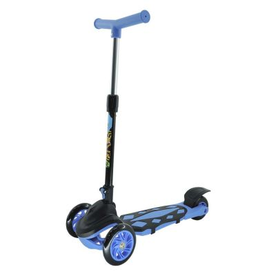 Patinete Radical Power Azul 3 Rodas DMR5553 DM Toys