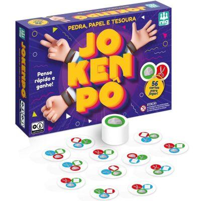 Jogo Jokenpô Pedra Papel E Tesoura - Nig Brinquedos