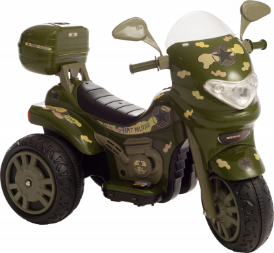 Moto Elétrica Sprint Turbo Militar 12V C/Capacete 672 - BIEMME