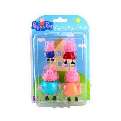 Familia da Peppa - 4 Mini Figuras SUNNY