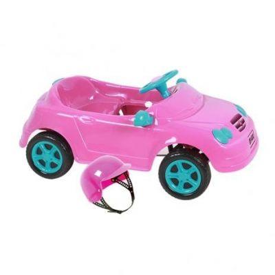 Carrinho Infantil À Pedal Mercedes Rosa 4130 Homeplay
