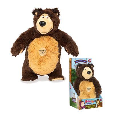 Pelúcia Urso Com Som Masha E O Urso - Estrela