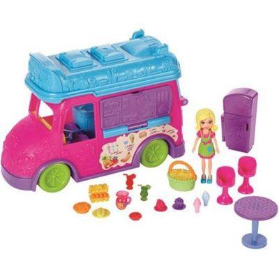 Food Truck  2 em 1 Polly  Pocket  - FPH98 Mattel