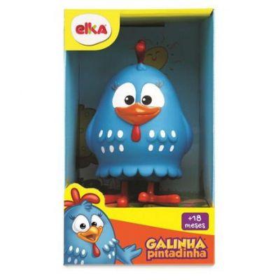 Boneco Galinha Pintadinha - 15 cm - Elka