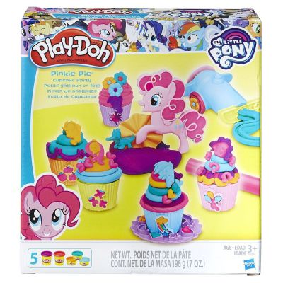 Massinha Play-Doh Festa de Cupcakes - Hasbroo