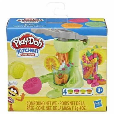 Massinha Play Doh Kitchen Creations Sucos Tropicais E6686 - Hasbro