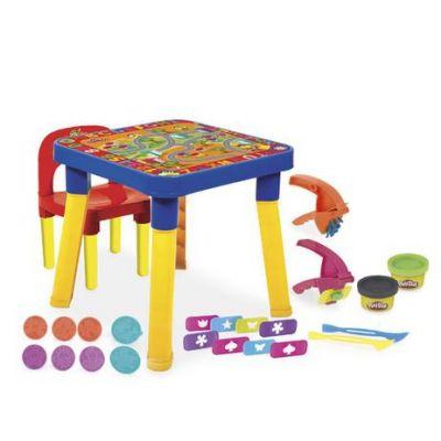 Play-Doh - Mesinha Infantil C/ Cadeirinha E Acessórios - Monte Líbano