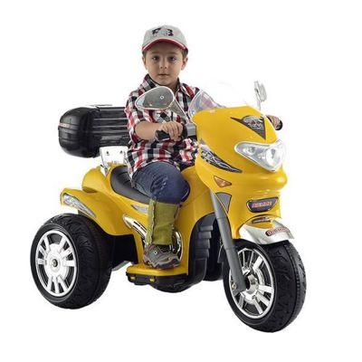 Moto Elétrica Infantil Sprint Turbo Amarelo 12V - 190 Biemme