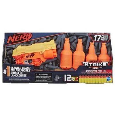 Nerf Alpha Strike Cobra C/ Alvo - E7858 - Hasbro
