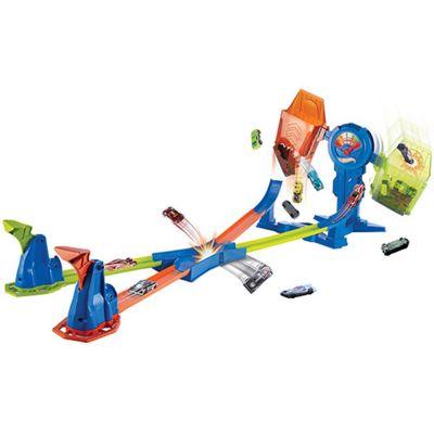 Pista Hot Wheels Cruzada Mortal Balanceada FRH34 - Mattel