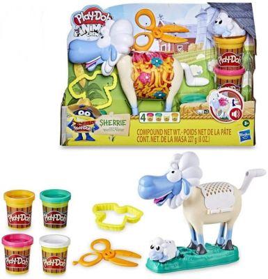 Massa Play-Doh Animal Crew Ovelha Sherrie E7773 - Hasbro