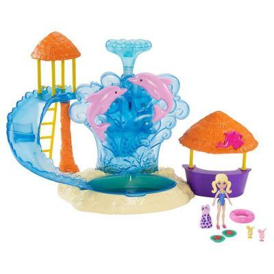 Polly Pocket - Parque Aquático Golfinho - FRY91 Mattel