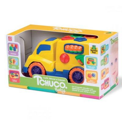 Carrinho Tchuco Baby Bau Samba Toys 0200